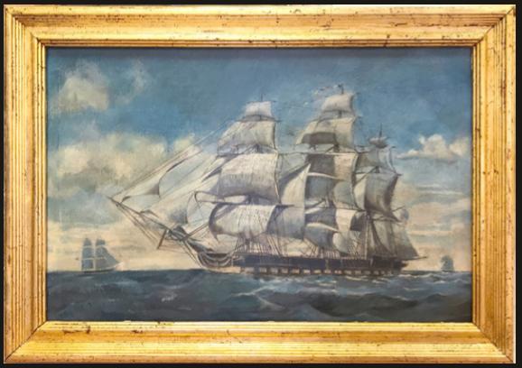 USS Constitution - 1910