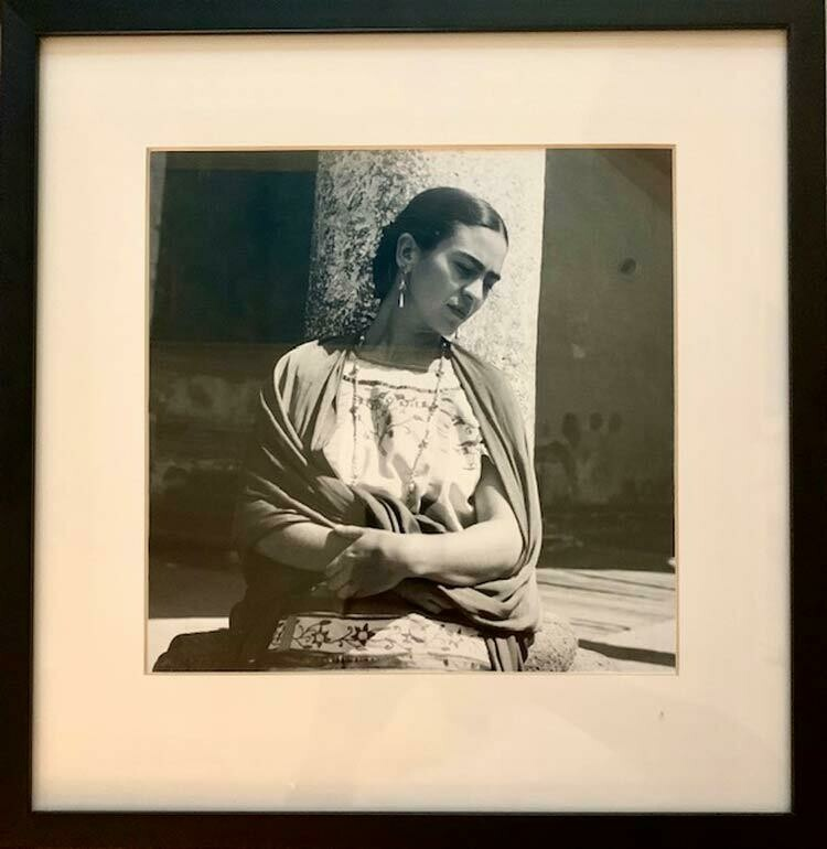 Fritz Henle - Frida Outside the Church
