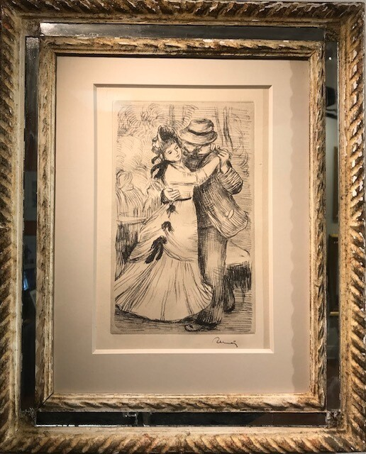 Pierre Auguste Renoir - La Danse a la Campagne