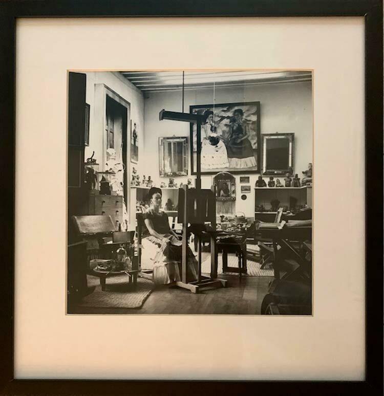 Fritz Henle - Frida in her Workshop