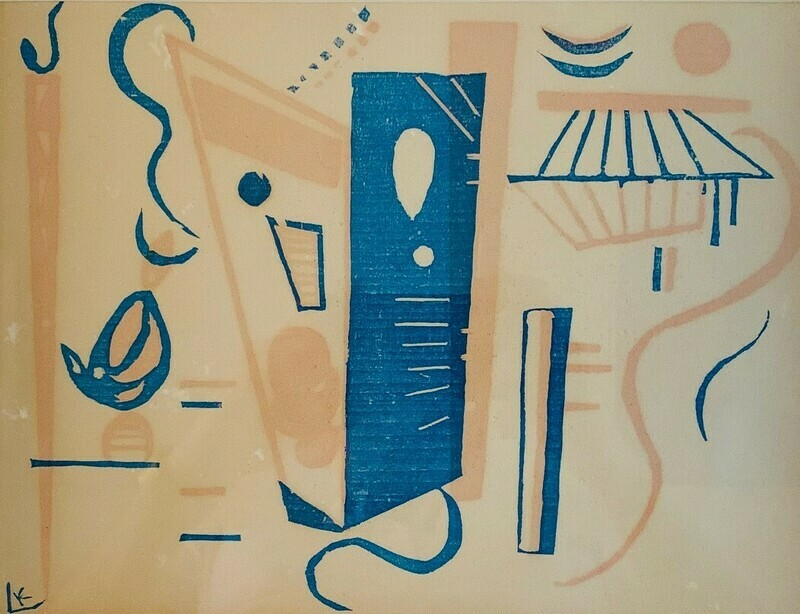 Wassily Kandinsky - Woodcut for 20th Century SOLD