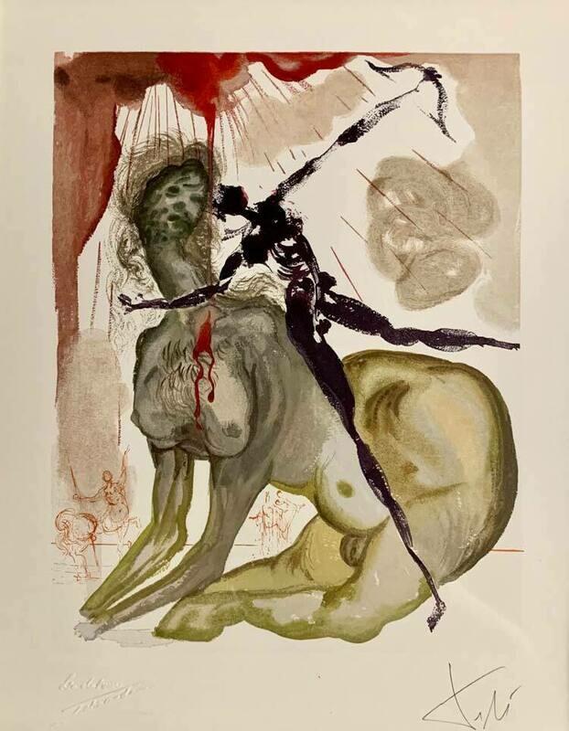 Salvador Dali - Inferno 12, The Minotaur - 2