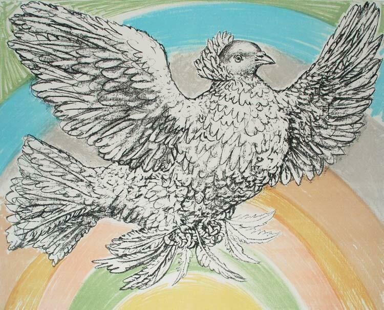 Pablo Picasso - Le Colombe (Sold)