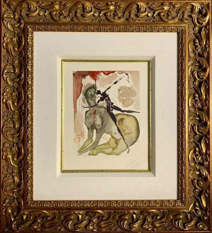 Salvador Dali - Inferno 12, The Minotaur