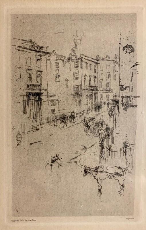 James Abbott McNeil Whistler - Alderney Street