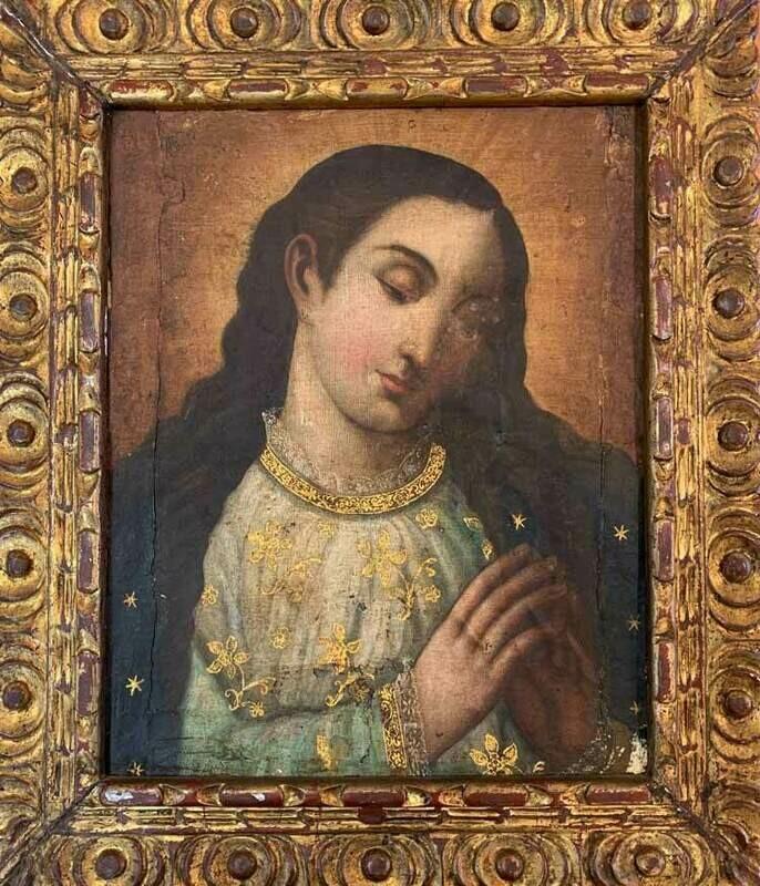 Cuzco School - Madonna