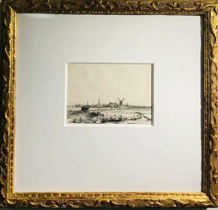 Rembrandt Van Rijn  - View of Amsterdam from the Northwest