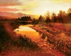 John Gamache - White Mountain Sunset