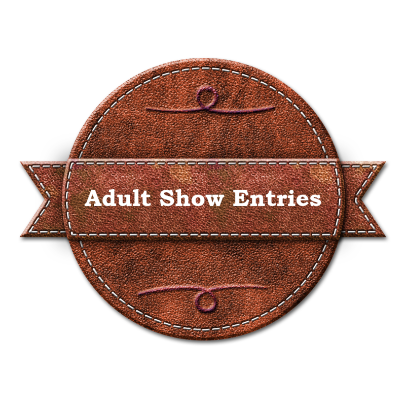 Adult Show Entries