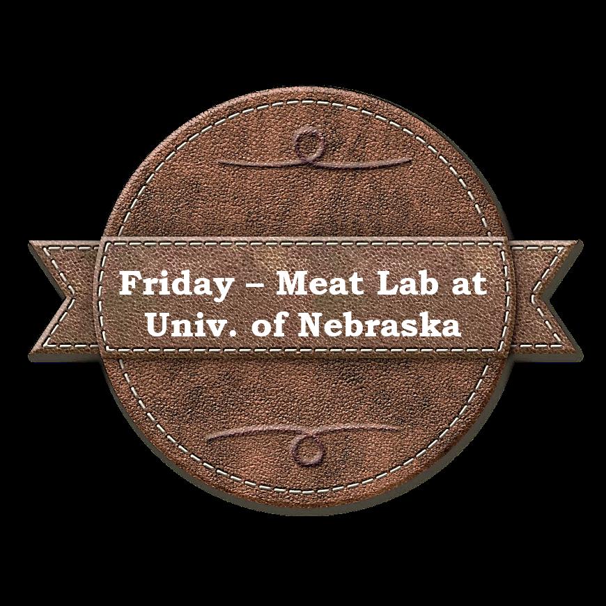 UNL Meat Lab Tour & Meat Cut Demo