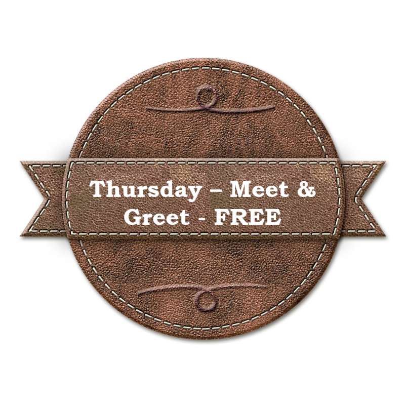 Thursday Meet-And-Greet Pizza Dinner