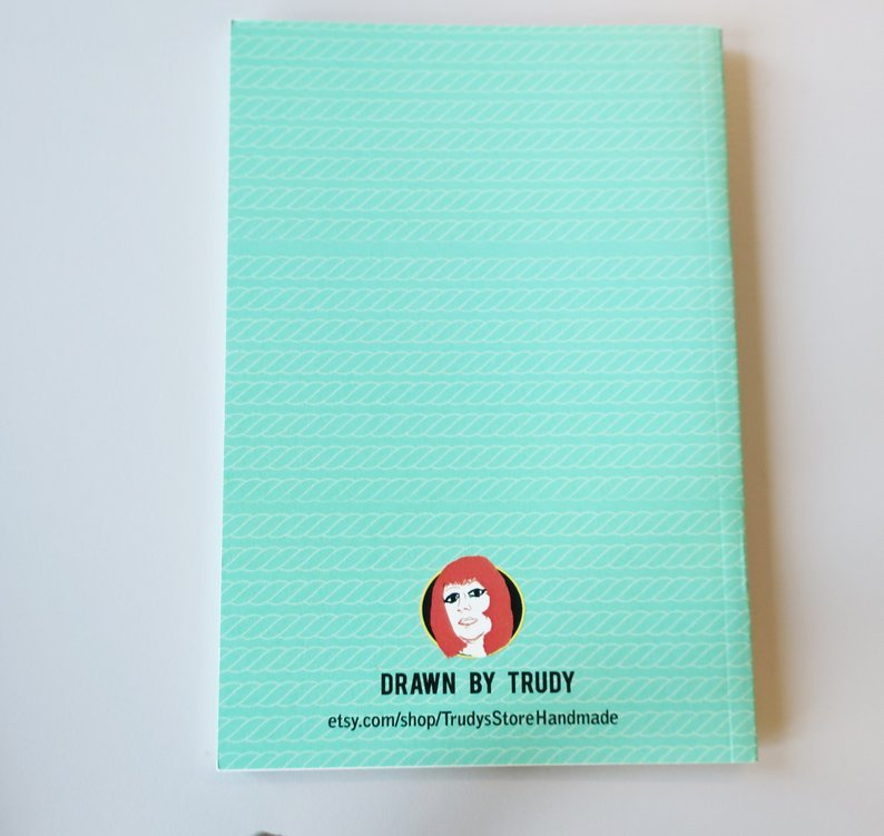 A6 Knot lined Notebook