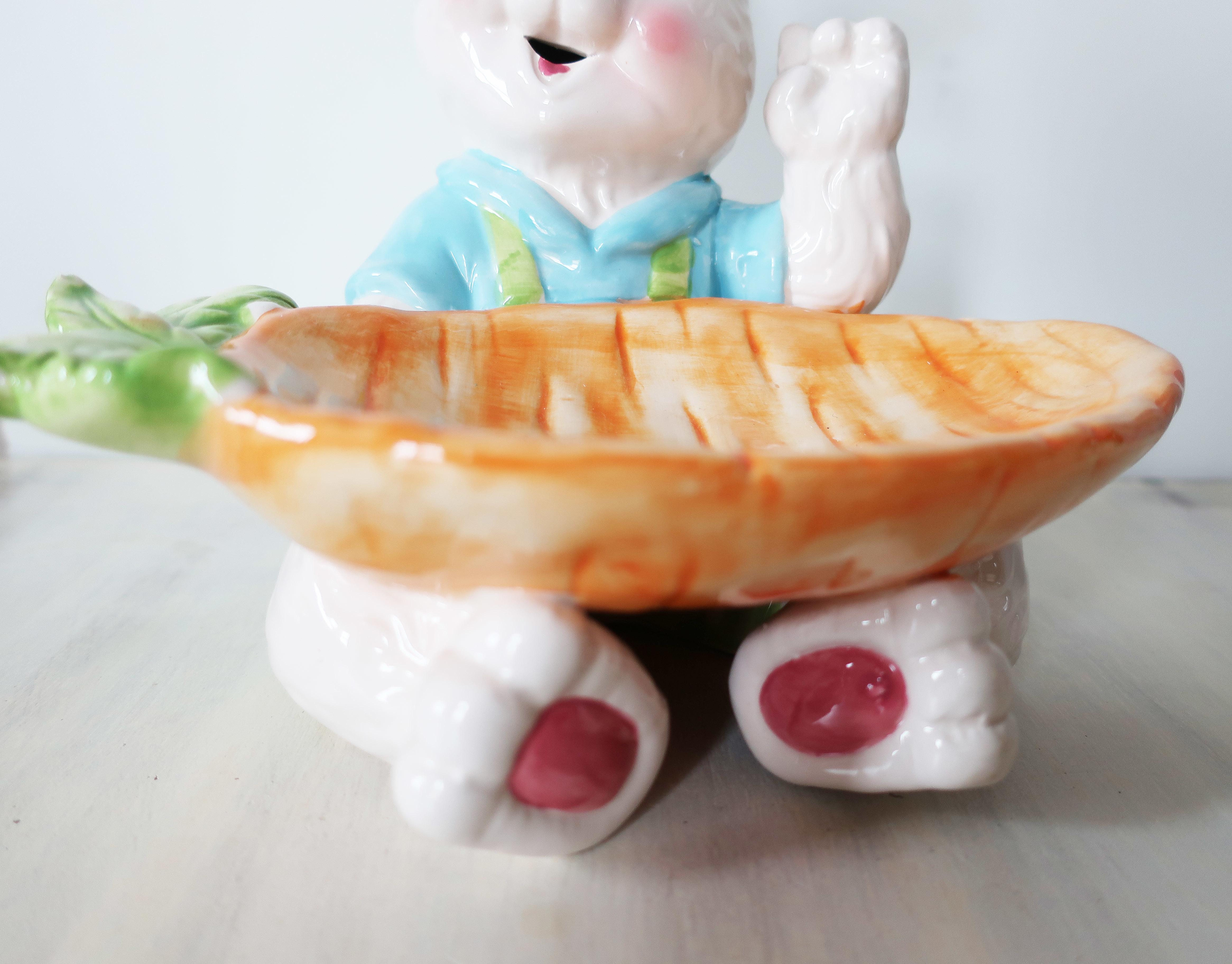 Large Easter Rabbit Treat Dish