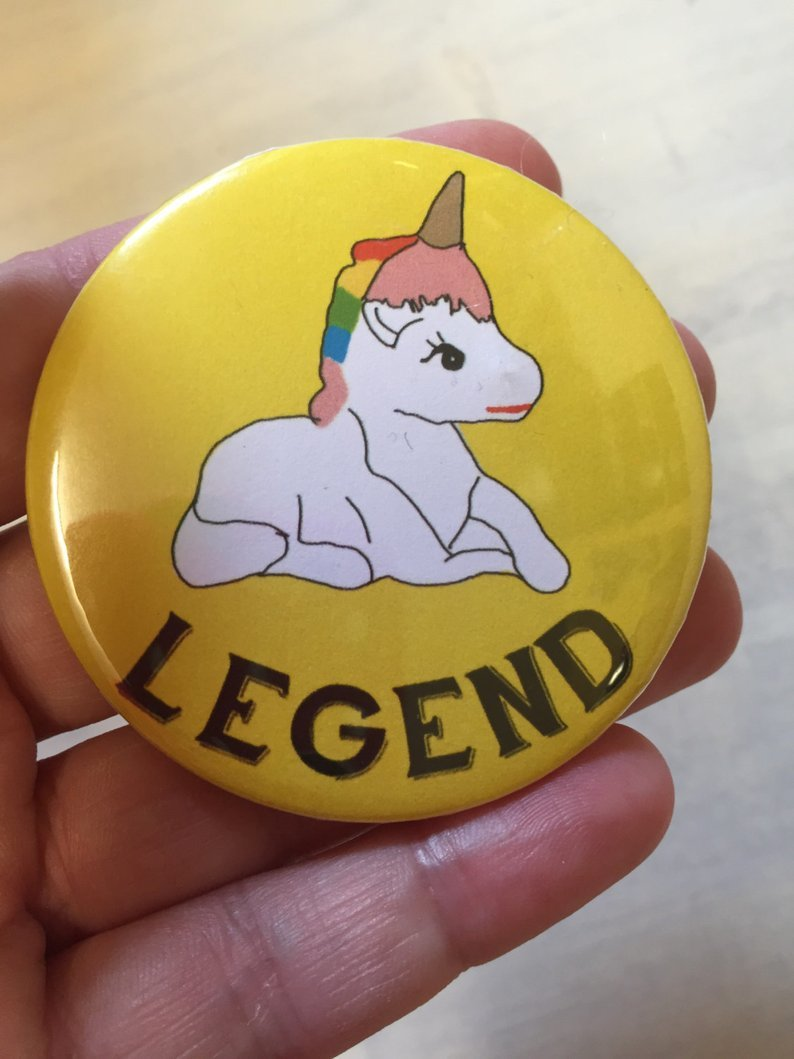 Unicorn Legend Badge