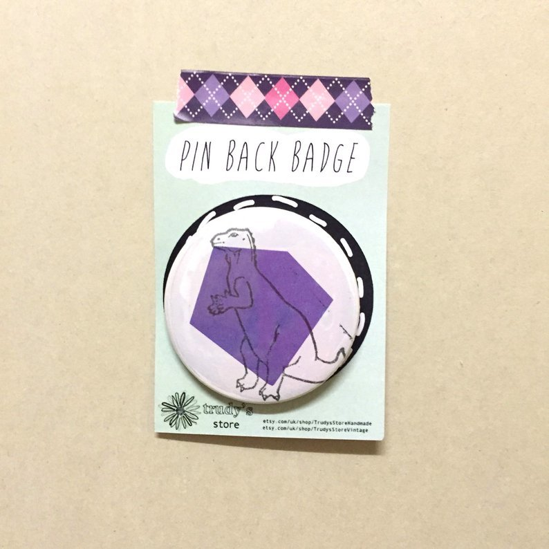 Purple Trachodon badge