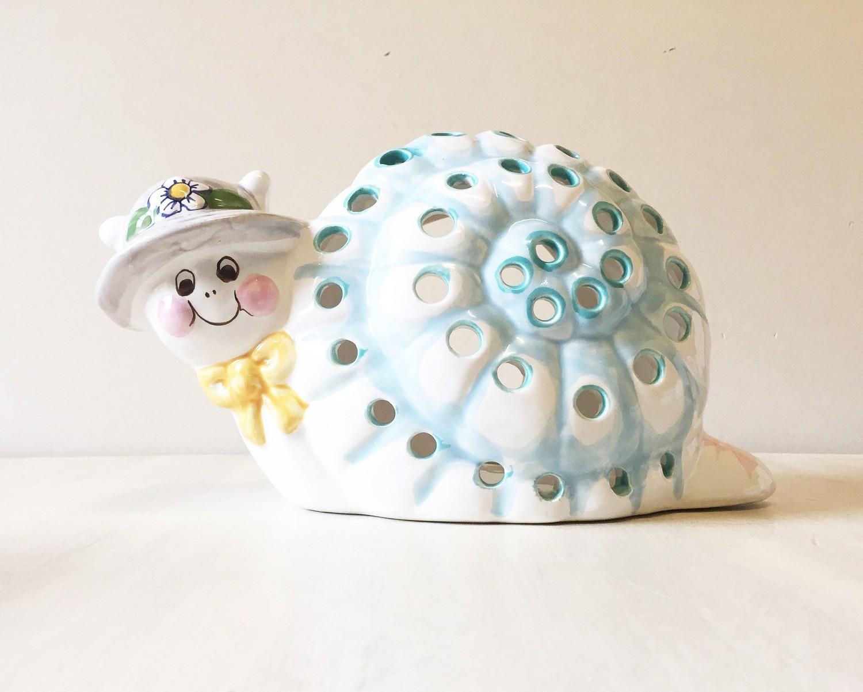 Vintage Snail lamp base