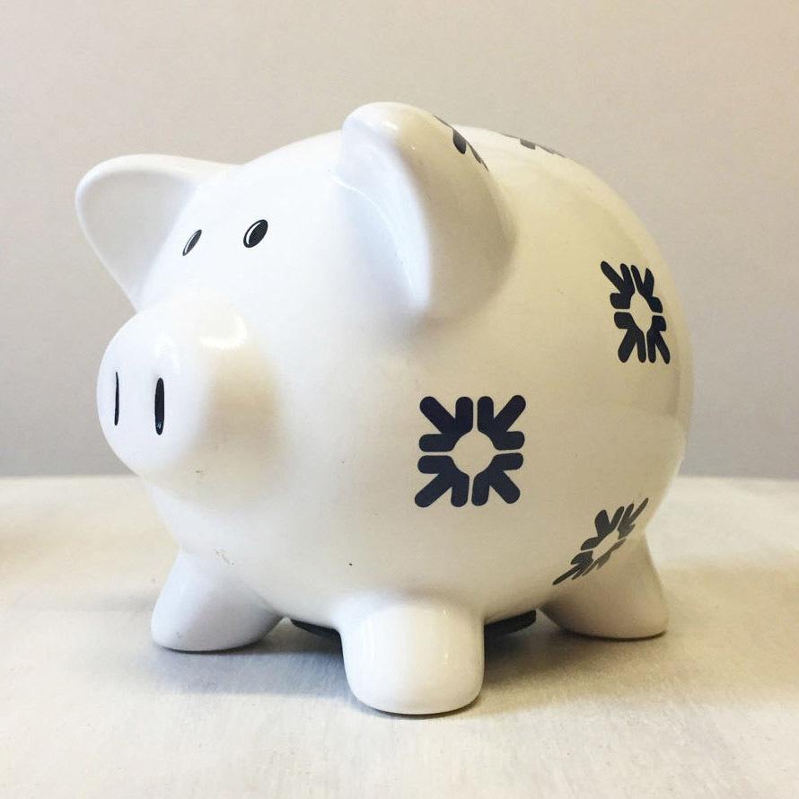 Vintage RBS piggy bank 00045