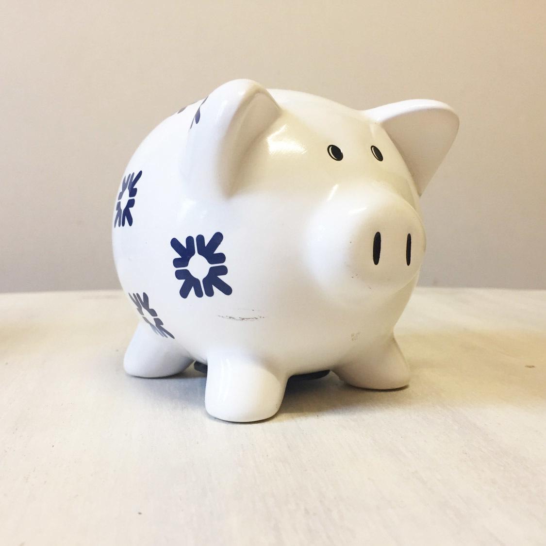 Vintage RBS piggy bank