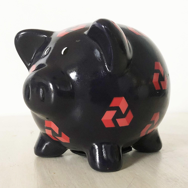 Vintage Natwest piggy bank