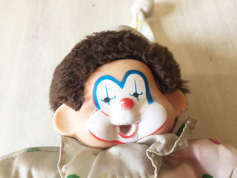 Corky clown Monchichi Monkey