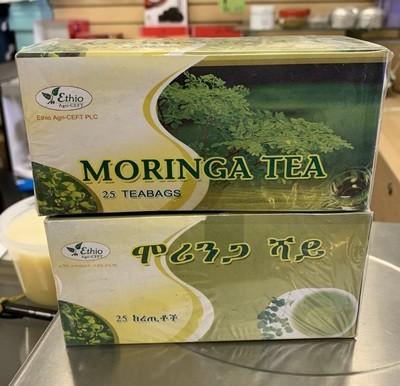 Moringa Tea ሞሪንጋ ሻይ
