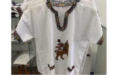 Ethiopian Moa Anbessa t shirt | Lion of Judah | Traditional Style