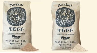 Teff flour    የጤፍ ዱቄት   ሰርገኛ ወይም ቀይ