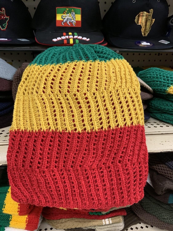 Ethiopian flag hats