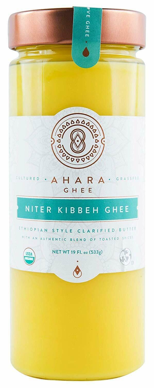Niter Kibbeh  ንጥር ቅቤ (For Lactose Intolerance)