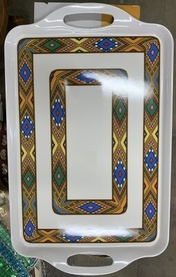 Tilet Saba design Tray ጥለት ሳባ ዲዛይን ትሪ