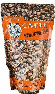 Tomoca Ethiopian Roasted Coffee Dark Roast (500gm)