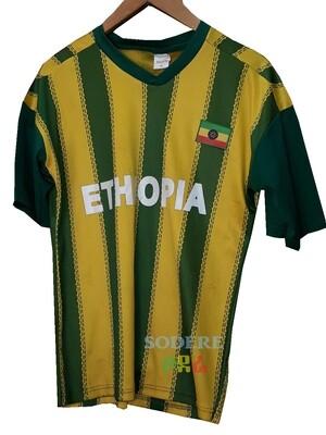 የኢትዮጵያ ማልያ  እጅጌ ጉርድ ቲሸርት  Ethiopian National Team T-shirt