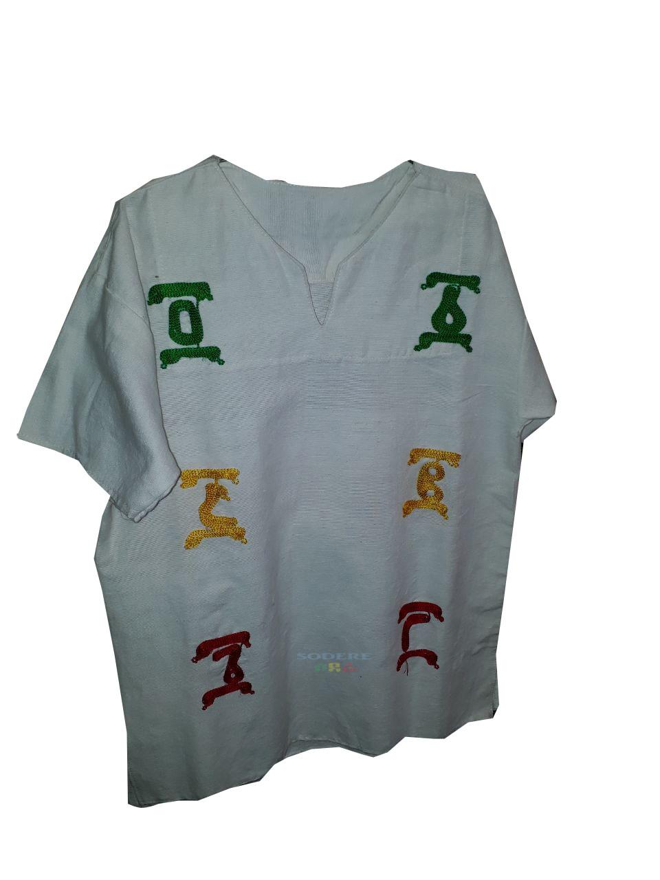 ባህላዊ የወንዶች ቲሸርት Cultural T-shirt for Men