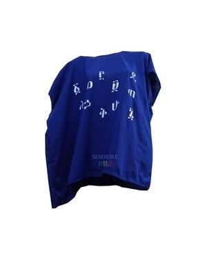 የአማርኛ  ፊደሎች እና ቁጥሮች ያሉበት የሴቶች አላባሽ Women T-shirt with Amharic Numbers and Letters