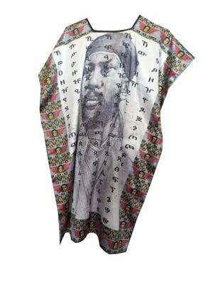 የሚኒሊክ ስእል ያለበት የሴቶች አላባሽ t-shirt for women