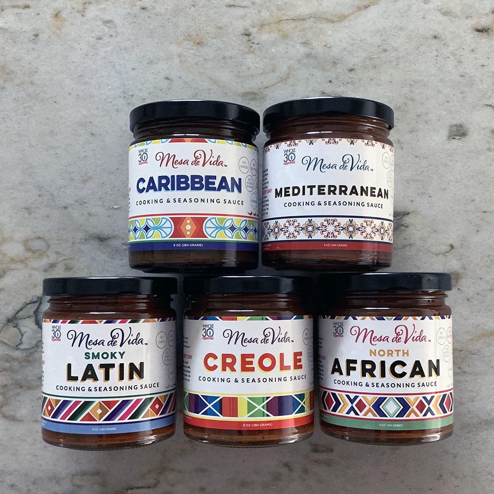 Mesa de Vida Global Gourmet Variety Bundle | Whole30 Approved Cooking Sauce