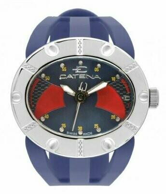 Swisspace S905LEI07 - Orologio da polso, cinturino in caucciù colore blu