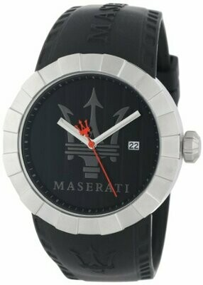 Maserati Herren-Armbanduhr XL Orologio Quarzo Plastik R8851103002