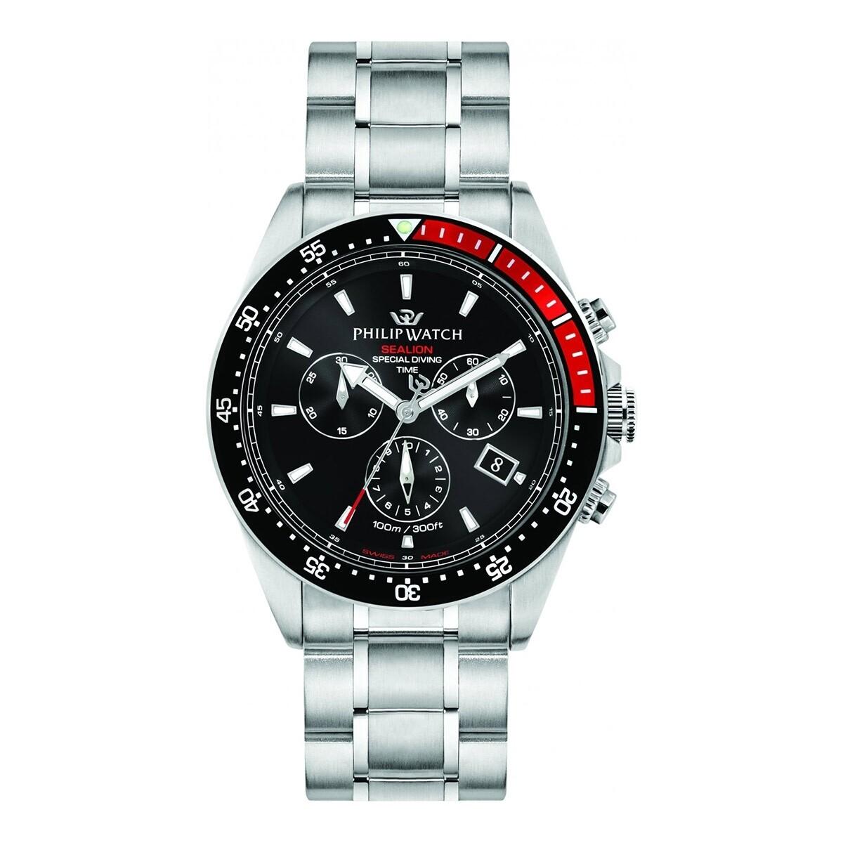Orologio da polso uomo Philip Watch Sealion chrono