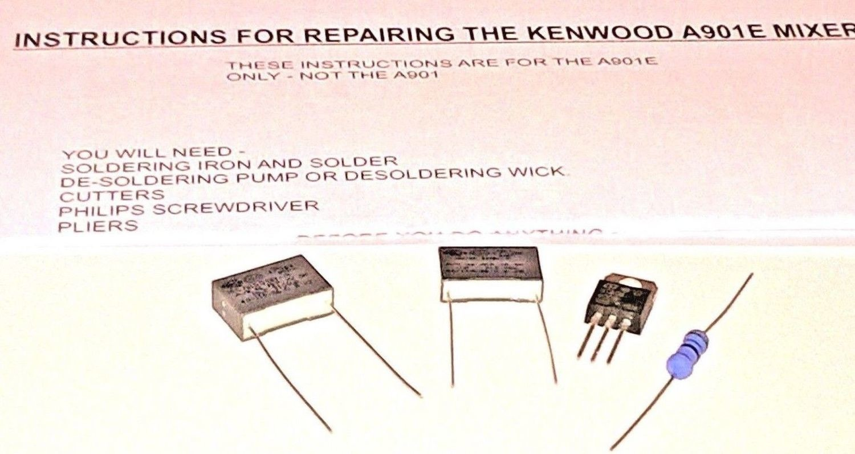 Kenwood Chef A901e Food Mixer Repair Kit Diy Home Fix