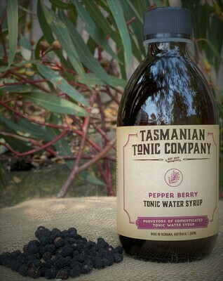 Pepper Berry Tonic Water Syrup