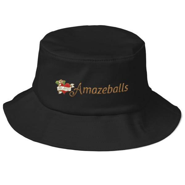 Amazeballs - Old School Bucket Hat 00003