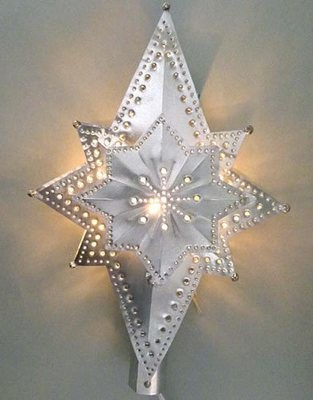 3 Dimension Star Lighted Treetop