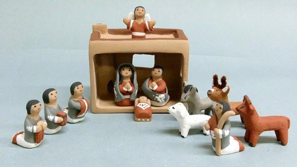Pueblo Nativity