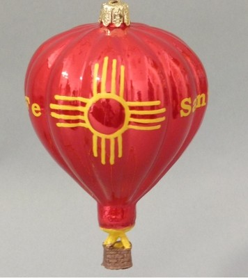 Red Zia Balloon
