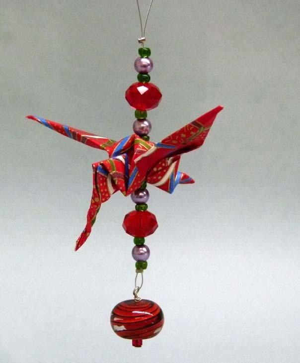 Single Hummingbird, Origami