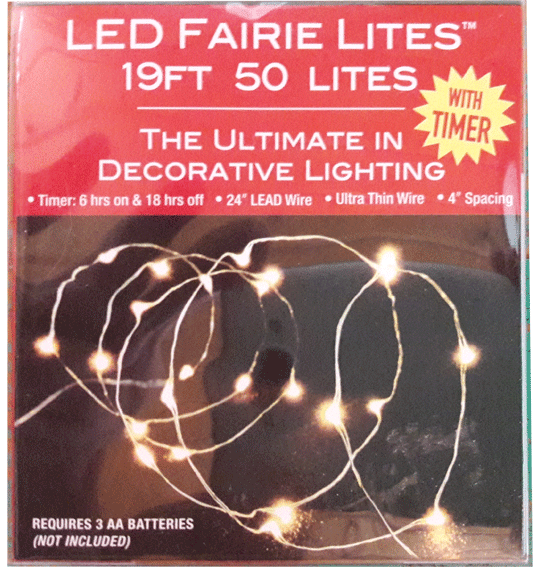 50 Light LED Fairy Lights