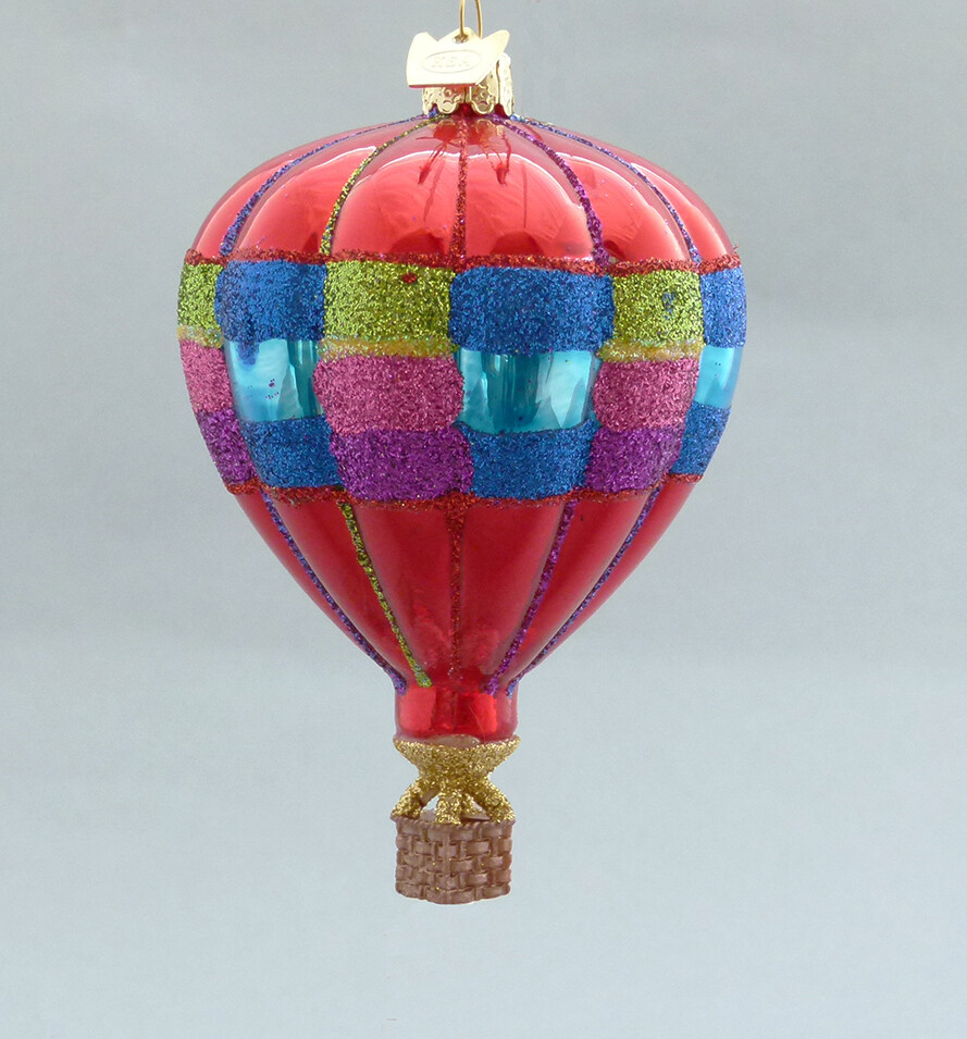 Checkered Stripe Balloon