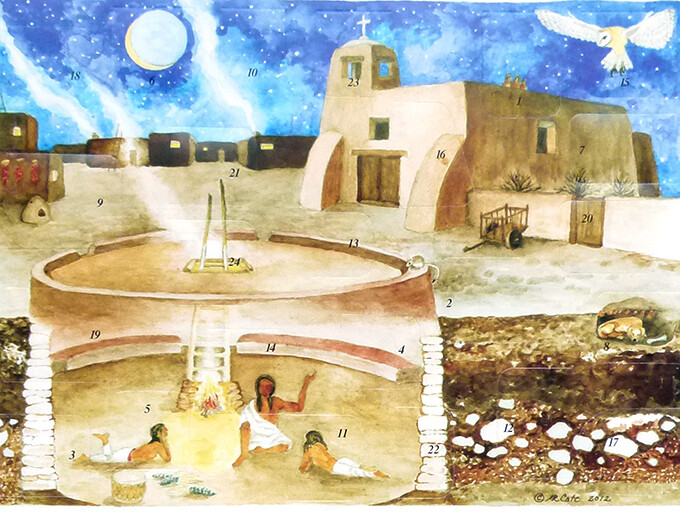 Native Voices Songs and Stories Advent Calendar
