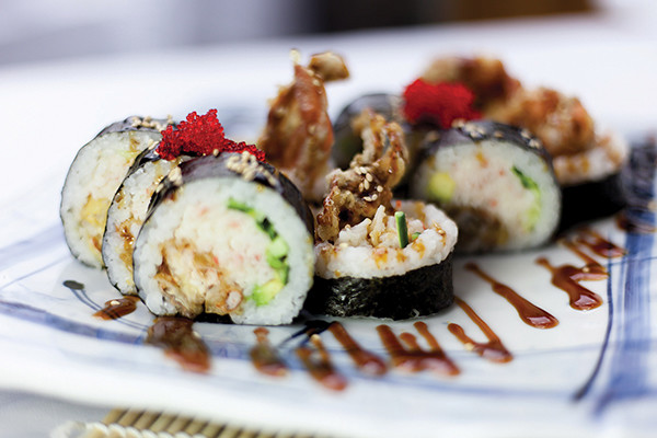 Vancouver Spider Roll